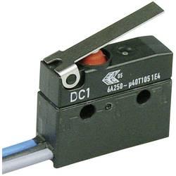 Mikrospínač s páčkou Cherry Sw. DC1C-C3LB, 250 V/AC, 6 A, 1x zap/(zap)