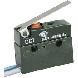 Mikrospínač s páčkou Cherry Sw. DC1C-C3LC, 250 V/AC, 6 A, 1x zap/(zap)