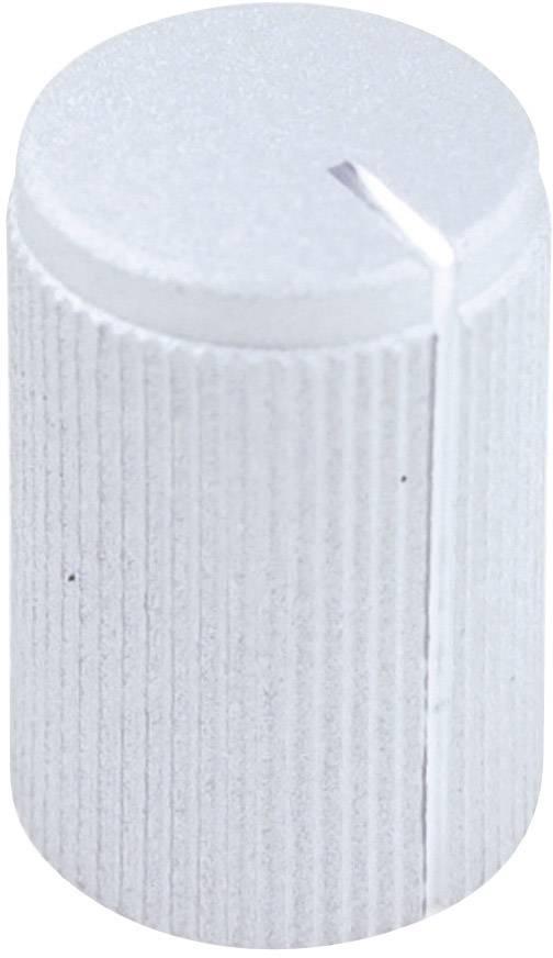 Otočný knoflík Cliff FC7248, pro sérii KMK10, 6 mm, s drážkováním, stříbrná