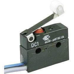 Mikrospínač s rolnou Cherry Sw. DC1C-C3RB, 250 V/AC, 6 A, 1x zap/(zap)