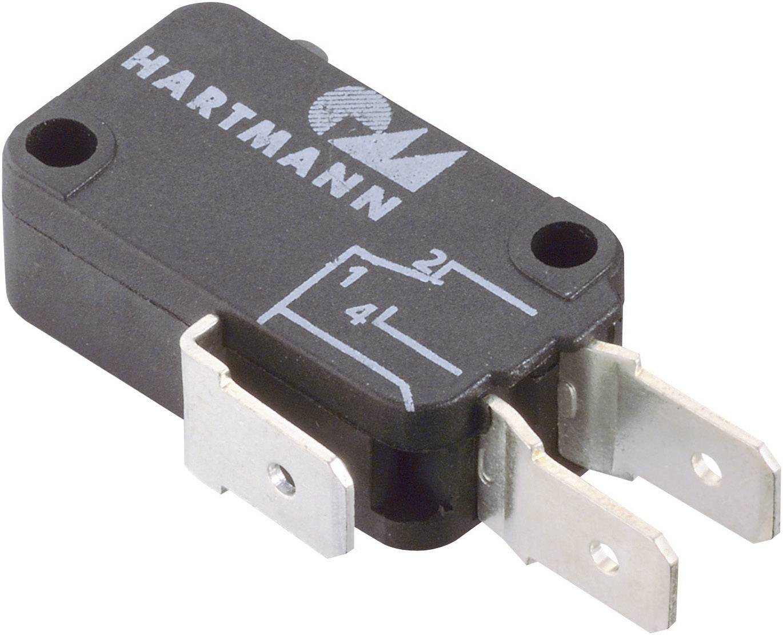 Mikrospínač - zdvihátko Hartmann 04G01B01X01A, 250 V/AC, 16 A