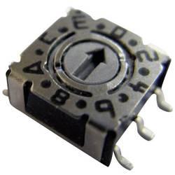 Otočný kódovací přepínač kompaktní konstrukce SMT