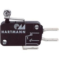 Mikrospínač - páka s rolnou Hartmann 04G01C06B01A, 250 V/AC, 16 A
