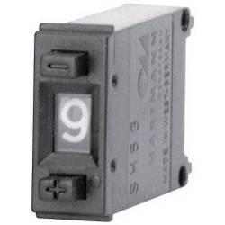Kódovací přepínač Hartmann SH6-131-AK-2, BCD, 0-9, Počet pozic přepínače 10, 1 ks