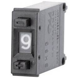Kódovací spínač Hartmann SH6-131-AK-2, BCD, 0-9, Počet pozic přepínače 10, 1 ks