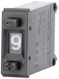 Kódovací spínač Hartmann SH6-131-AK-2, BCD, 0-9, počet pozícií prepínača 10, 1 ks