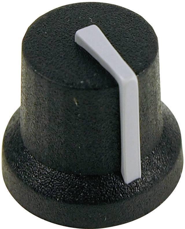 Otočný knoflík Cliff CL170844BR, pro sérii K87MBR, 6 mm, černá/šedá