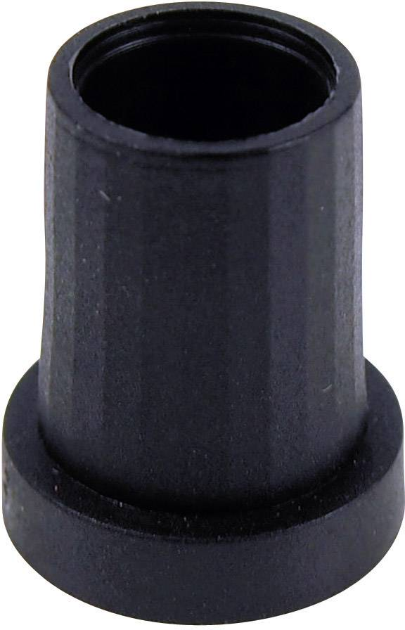 Otočný gombík Cliff CL17094, (Ø x v) 14 mm x 18 mm, čierna, 1 ks