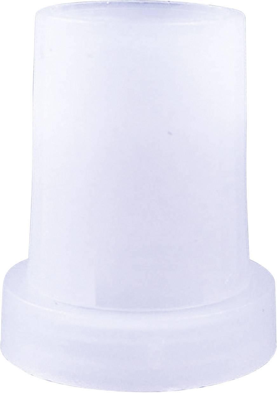 Otočný gombík Cliff CL170976, (Ø x v) 14 mm x 18 mm, priehľadná, 1 ks