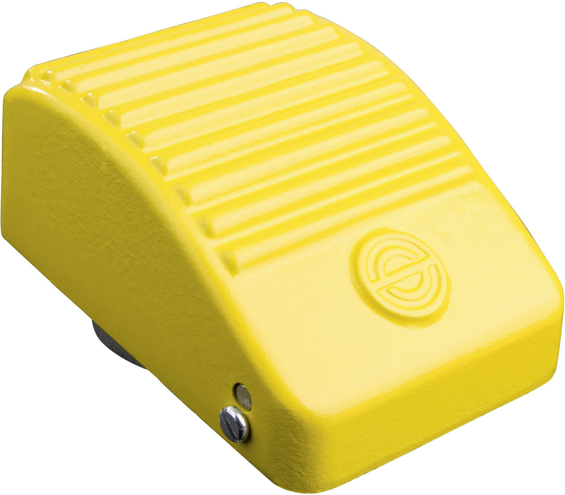 Nožné / ručné tlačidlo Schlegel KEF YE, 250 V/AC, 10 A, 1 spínací, 1 rozpínací, 1 pedál , IP65, 1 ks