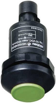 Tlačidlo Elobau 145000AB-GN, 48 V DC/AC, 0.5 A, čierna, červená, 1 ks