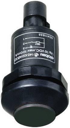 Stláčacie tlačidlo Elobau 145000AB-BK, 48 V DC/AC, 0.5 A, 1 ks