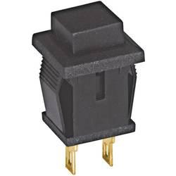 Tlačítko Eledis, SED2GI-2, 250 V/AC, 0,5 A, zap./(vyp.), černá