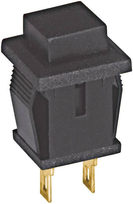 Tlačidlo Eledis SED2GI-2-H, 250 V/AC, 0.5 A, čierna, 1 ks