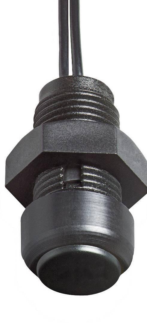 Stláčacie tlačidlo Elobau 145MT01A-BK, 48 V DC/AC, 0.2 A, 1 ks