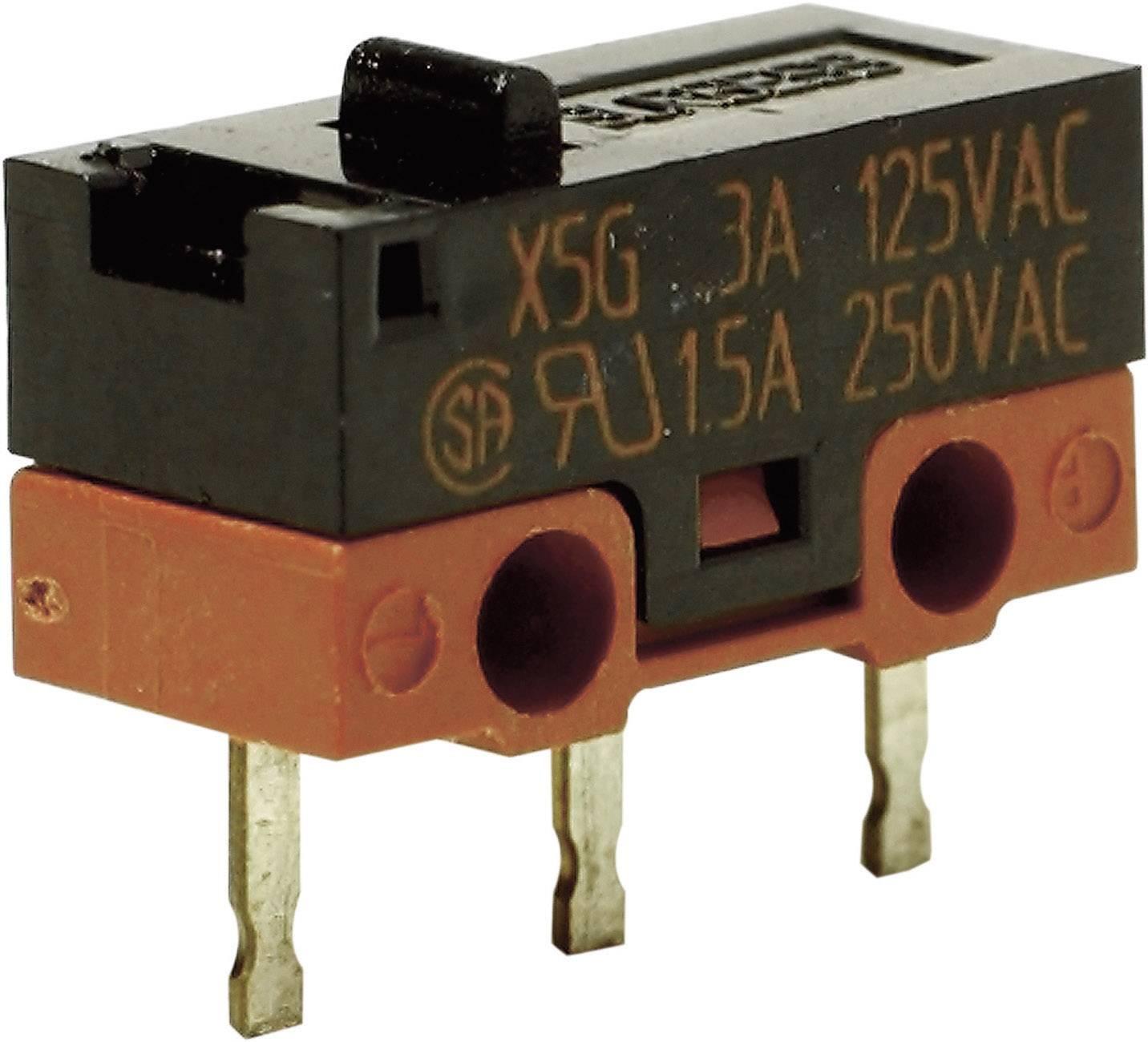 Mikrospínač - tŕň Saia X5G303K1AN, 250 V/AC, 1.5 A, IP40