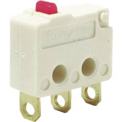 Mikrospínač Burgess F4T7UL, 250 V/AC, 5 A, IP40