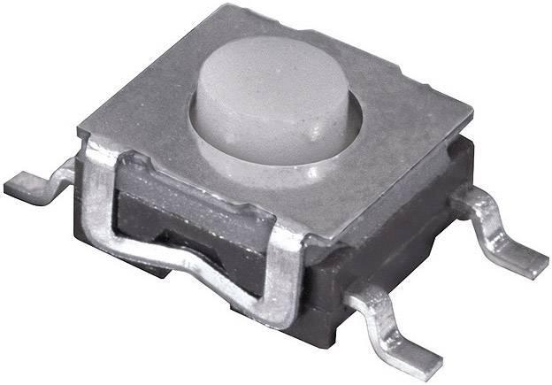 Stláčacie tlačidlo Namae Electronics JTP-1260AEM, 12 V/DC, 0.05 A, 1 ks