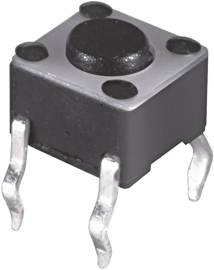 Stláčacie tlačidlo Namae Electronics JTP-1130L, 12 V/DC, 0.05 A, 1 ks