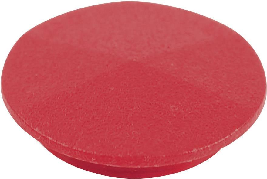 Krytka na otočný knoflík Cliff CL177753, pro sérii K12, červená