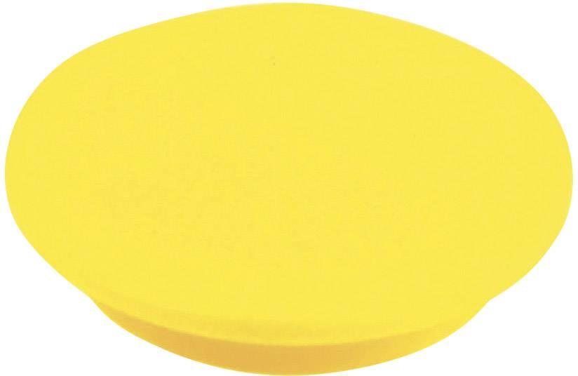 Krytka na otočný knoflík Cliff CL177756, pro sérii K12, žlutá
