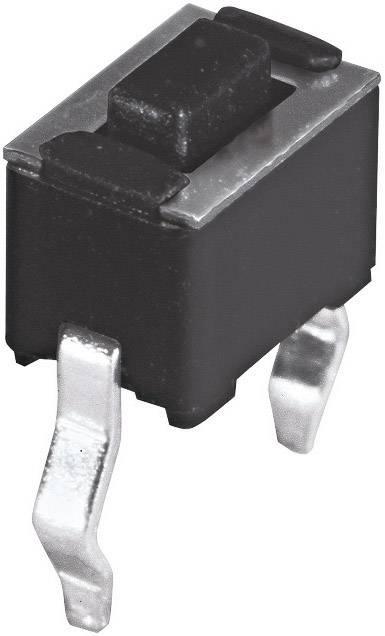 Stláčacie tlačidlo Namae Electronics JTP-1243, 12 V/DC, 0.05 A, 1 ks