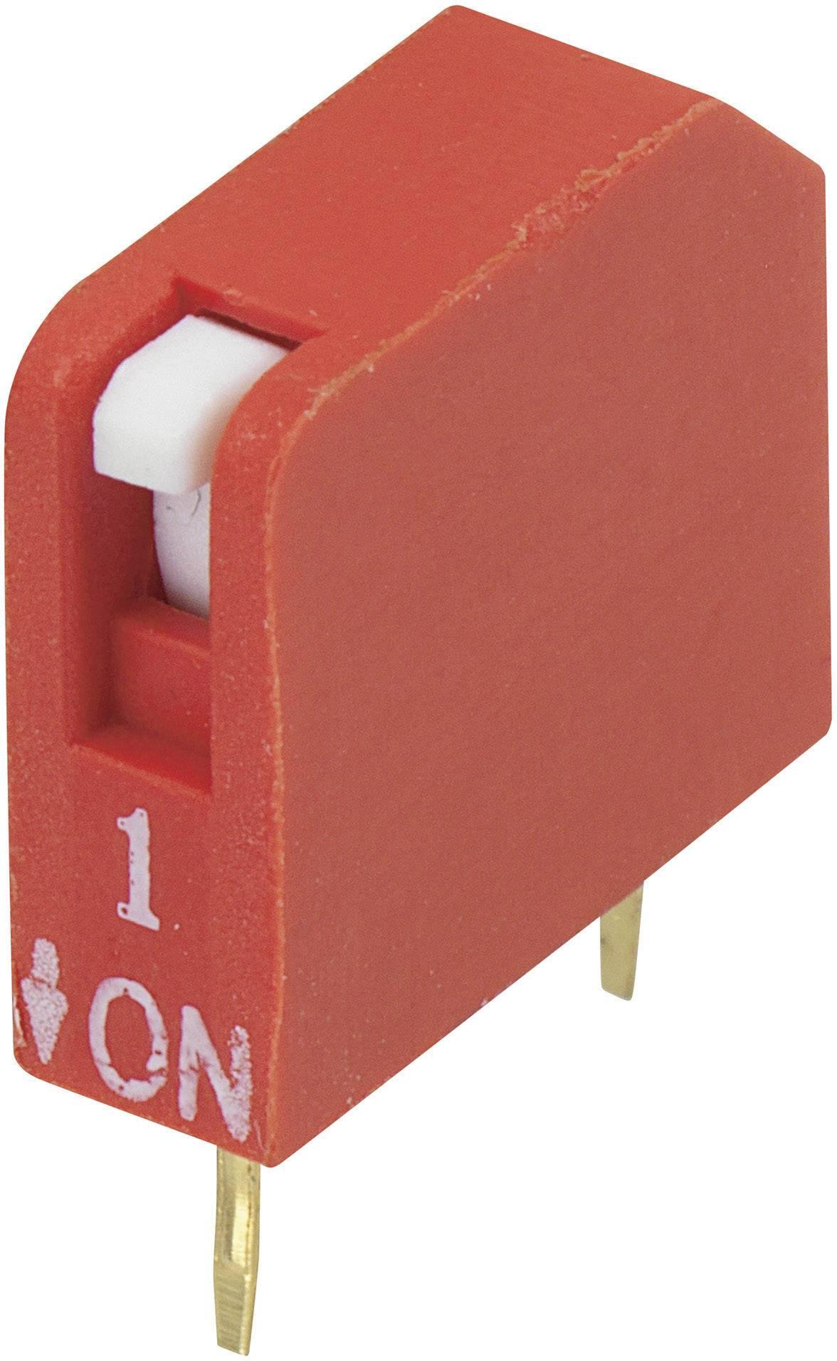 DIP spínač DPR-01, (š x v) 10,6 mm x 9,7 mm