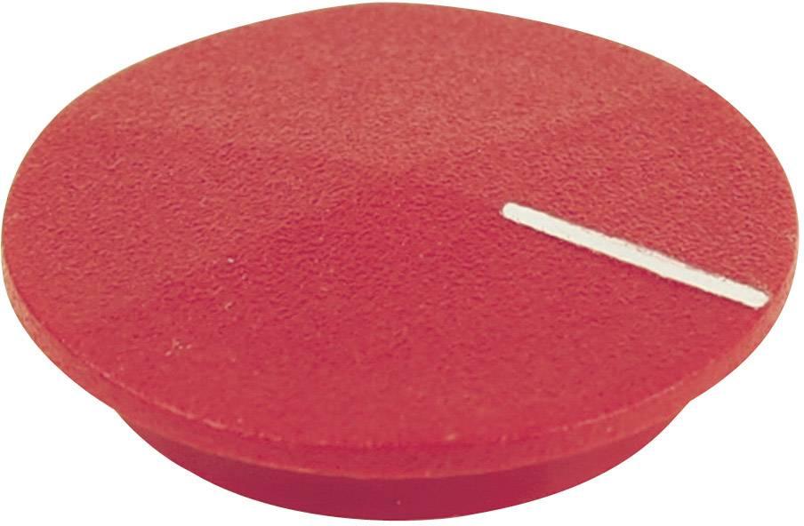 Krytka na otočný knoflík Cliff CL177805, s ukazatelem, pro sérii K12, červená