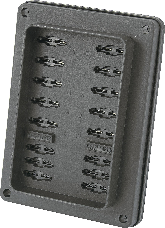 Držiak poistky TRU COMPONENTS TC-R3-82-01-10310 1588034, Vhodné pre štandardná plochá poistka, 25 A, 32 V/DC, 1 ks