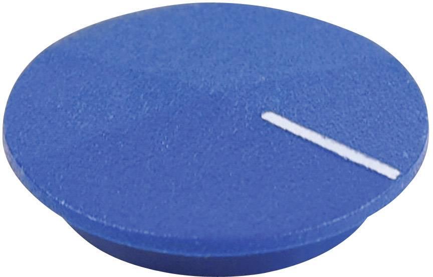 Krytka na otočný knoflík Cliff CL177813, s ukazatelem, pro sérii K12, modrá