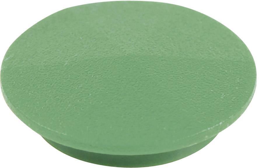 Krytka na otočný knoflík Cliff CL177814, s ukazatelem, pro sérii K12, zelená