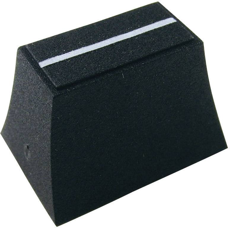 Posuvný gombík Cliff CP3190, (d x š x v) 20 x 14 x 13 mm, čierna, 1 ks