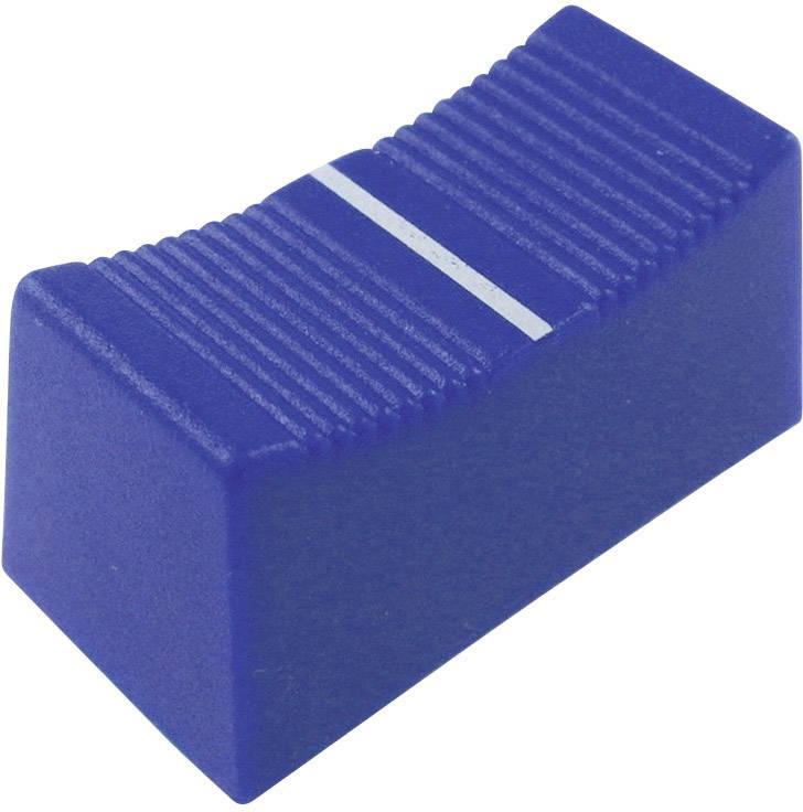 Posuvný gombík Cliff CP3265, (d x š x v) 23 x 11 x 11 mm, modrá, 1 ks