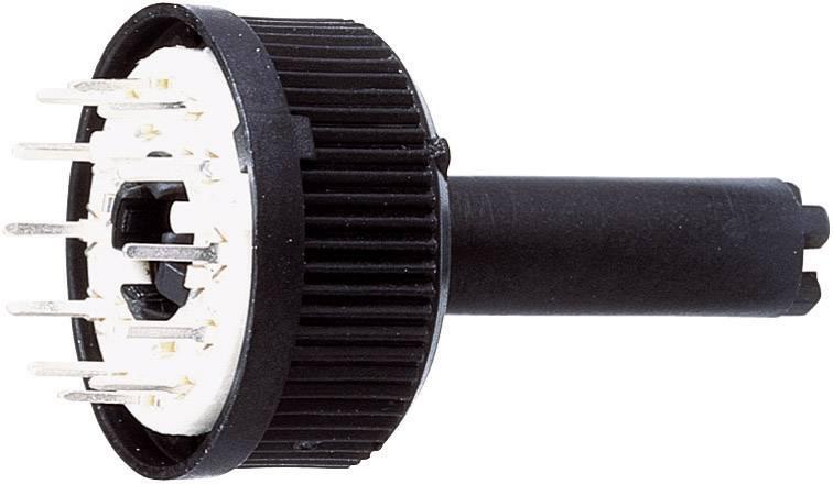 Otočný spínač TT Electronics AB 417, 150 V/AC, 0.13 A, pozice 12, 1 x 30 °, 1 ks