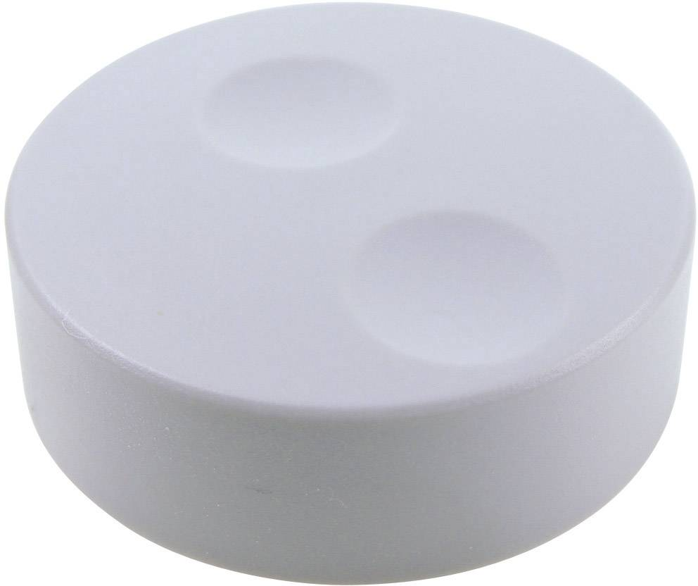 Knoflík pro enkodéry Cliff CL71650A, pro sérii K18, 6 mm, šedá