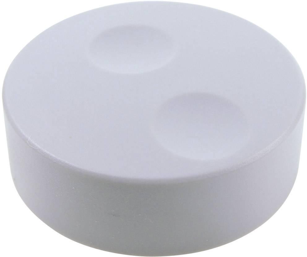 Knoflík pro enkodéry Cliff CL71660A, pro sérii K18, 6 mm, šedá