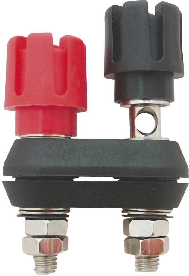 Prepojovacia spojka Cliff CL159701, 30 A, červená/čierna