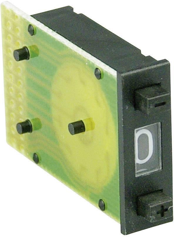 Kódovací spínač Cherry Switches PEAA-3000, decimálne, 0-9, počet pozícií prepínača 10, 1 ks