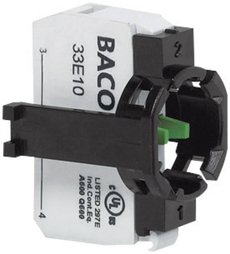 Spínacie kontaktné teleso BACO 331ER10, 1 spínací, bez aretácie, 600 V, 1 ks