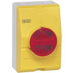 Odpínač BACO BA0172361 BA0172361, 63 A, 1 x 90 °, žltá, červená, 1 ks