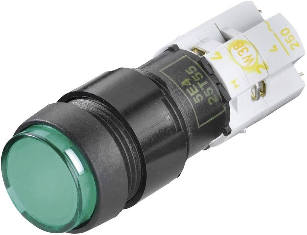 Tlačidlový spínač RAFI 9.15108.567/0000, 250 V/AC, 4 A, čierna, 1 ks