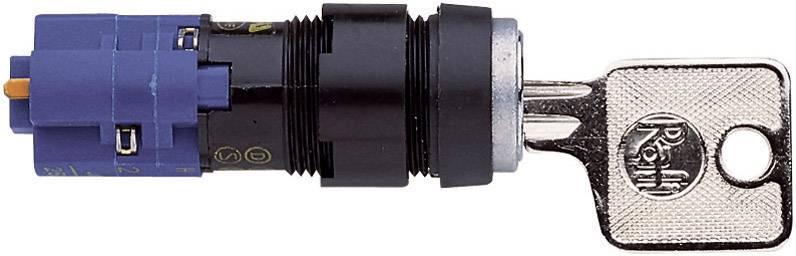 Spínač s klíčem RAFI LUMOTAST 75 (1.15.108.911/0000), 1x 90 °, 250 V/AC, 4 A, 1x vyp/zap