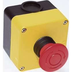 Nouzový vypínač Idec HW1X-BV401-R, 250 V/AC, 3 A