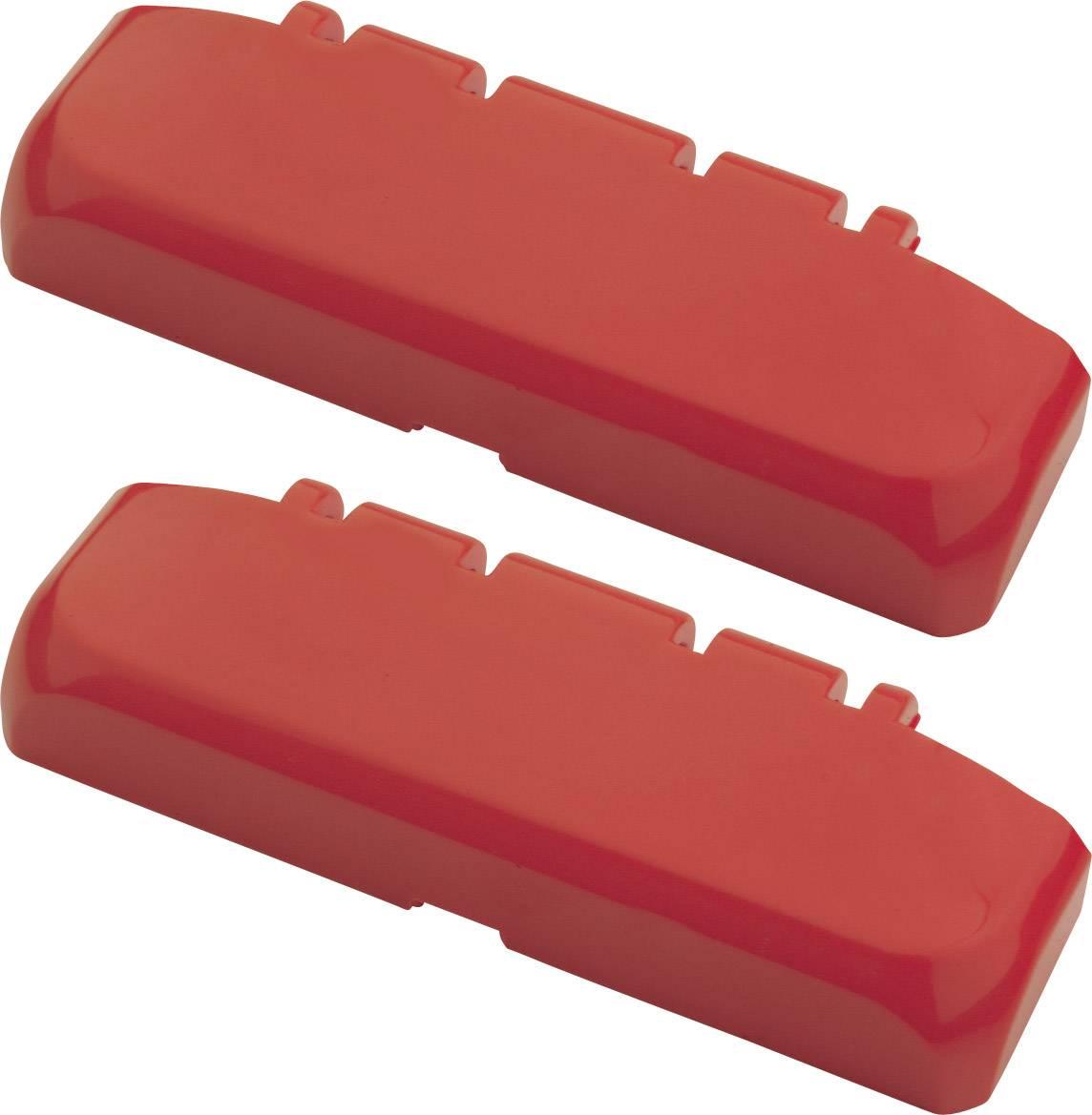Bopla Bocube 96310100, polykarbonát, ohnivo červená, 2 ks