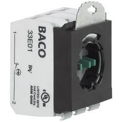 Spínacie kontaktné teleso s upevňovacím adaptérom BACO 333E20, 2 spínacie, bez aretácie, 600 V, 1 ks