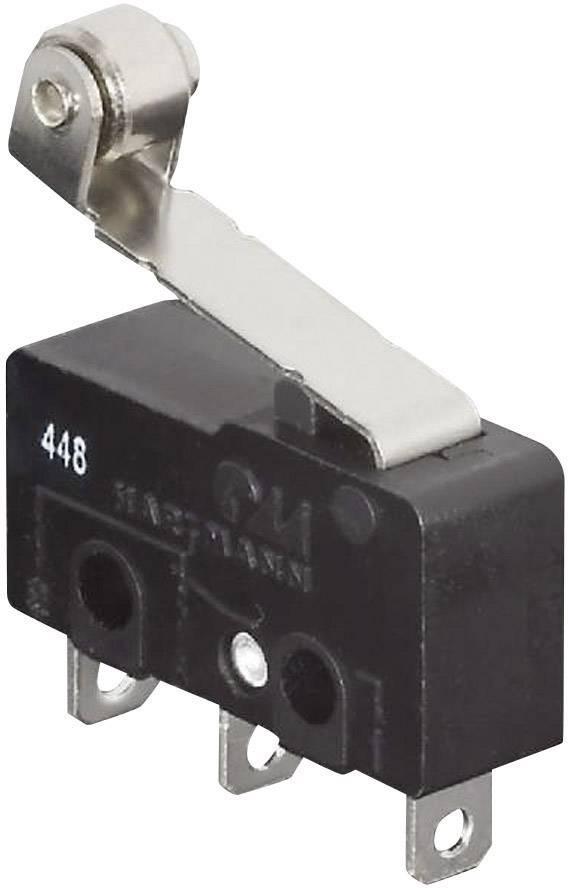 Mikrospínač s rolnou Hartmann 62-263100008, 250 V/AC, 5 A, 1x zap/(zap)