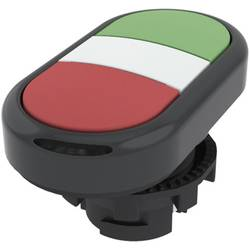Tlačítkový spínač Pizzato Elettrica E21PDRL10423, zelená/červená