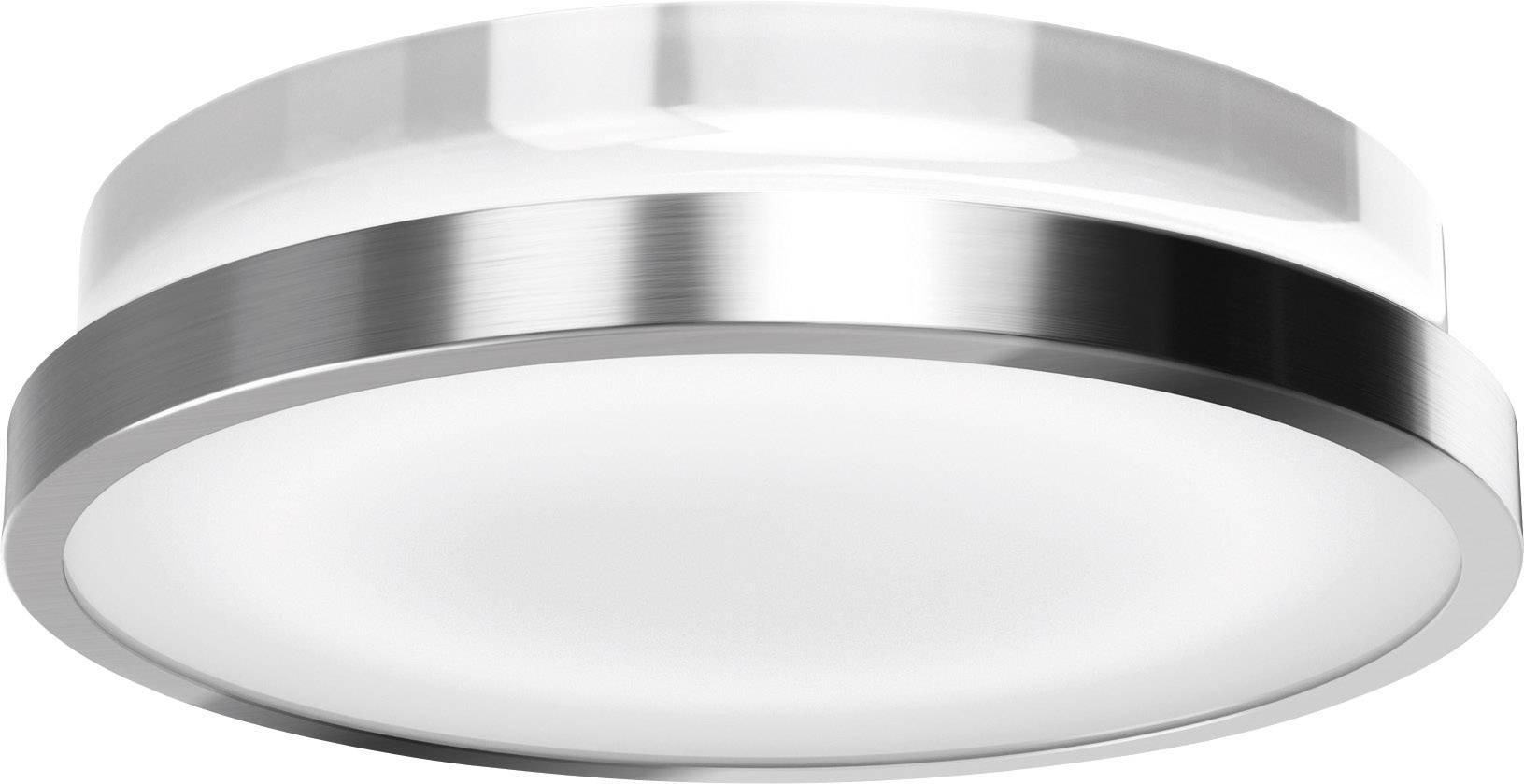 LEDvonkajšienástennéosvetleniesPIR senzorom 20 W teplá biela OSRAM 4052899905634 strieborná