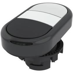 Tlačítkový spínač Pizzato Elettrica E21PDRL10221, bílá/černá