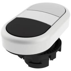 Tlačítkový spínač Pizzato Elettrica E21PDRL90221, bílá/černá